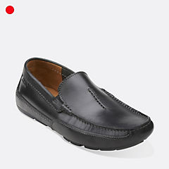 Ashmont Race Black Smooth Leather mens-loafer-slip-on