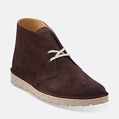 Desert Aerial Dark Brown Suede