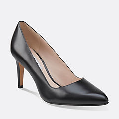Dalhart Sorbet Black Leather