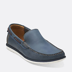 Kelan Lane Navy Leather