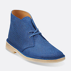 Desert Boot Blue Snake
