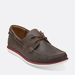 Kelan Step Dark Brown Lea