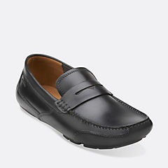 Ashmont Way Black Smooth Leather mens-casual-shoes