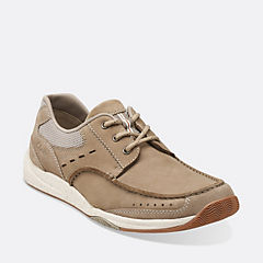 Allston Edge Taupe Nubuck mens-boat-shoes