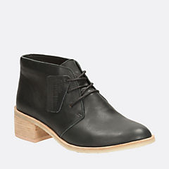 Phenia Carnaby Black Leather