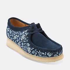 Wallabee. Blue Combi
