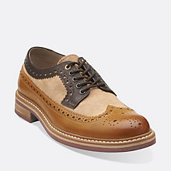 Darby Limit Tan Combi mens-oxfords-lace-ups
