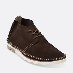 Dakin Top Dark Brown Suede
