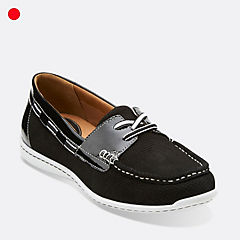 Cliffrose Sail Black Nubuck