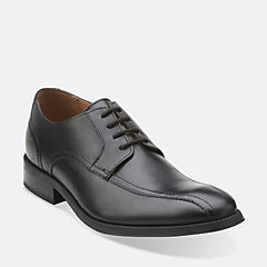 Greer Move Black Leather mens-dress-shoes