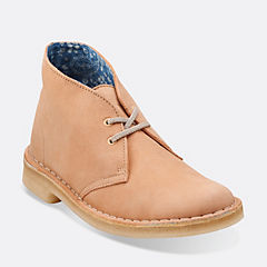 Desert Boot. Faded Peach