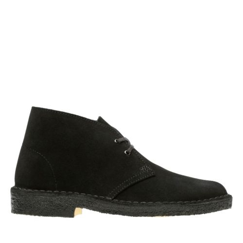 Desert Boot. Black Suede originals-womens-boots