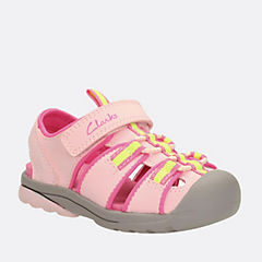 Beach Tide Toddler Pink Synthetic girls-sandals