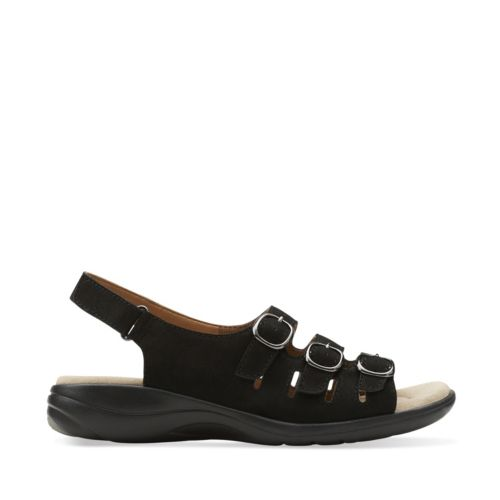 Saylie Medway Black Nubuck womens-collection