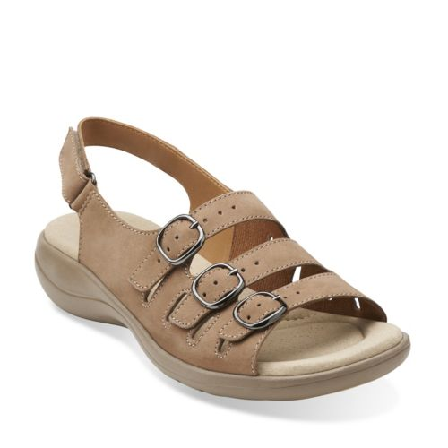 Saylie Medway Taupe Nubuck womens-collection