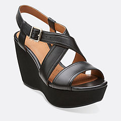 Nadene Ziva Black Leather
