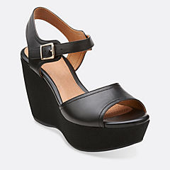 Nadene Lola Black Leather
