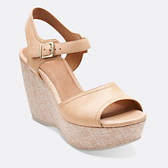 Nadene Lola Beige Leather