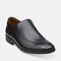 Glenrise Step Black Leather
