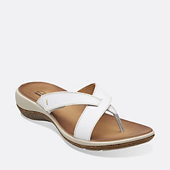 Taline Core White Leather