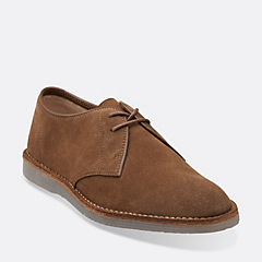 Darning Walk Brown Suede