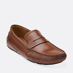 Ashmont Way Cognac Smooth Leather mens-casual-shoes