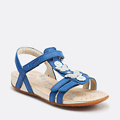 Rio Dance Inf Blue Leather