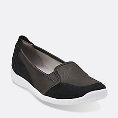 Charron Artic Black Nubuck womens-active