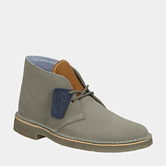 DesertHerschel Grey Suede