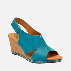 Helio Float4 Blue Suede womens-wedges