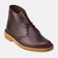 Desert Boot Wine Leather