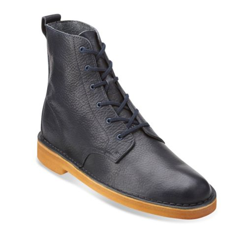 Desert Mali Navy Leather originals-mens-boots