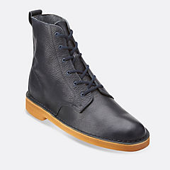 Desert Mali Navy Leather mens-view-all