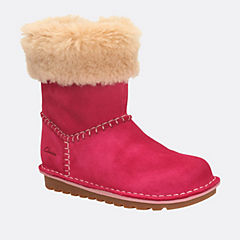 Greeta Ace Toddler Berry Suede girls-boots