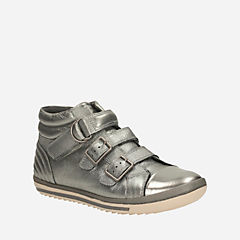 Epsie Skye Toddler Silver Leather girls-toddler