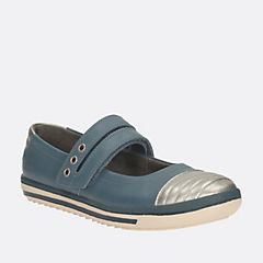 Epsie Star Inf Teal Leather