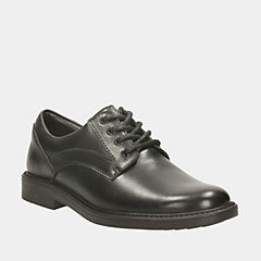 Deon Class Toddler Black Leather boys-toddler