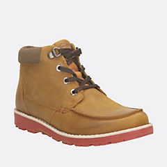 Day Magic Toddler Tan Leather boys-boots