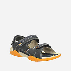 Mirlo Air Youth Navy Leather boys-junior