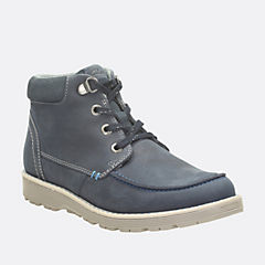 Day Magic Todder Blue Leather boys-boots