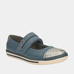 Epsie Star Jnr Teal leather
