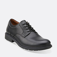 Buckland Walk Black Leather mens-view-all
