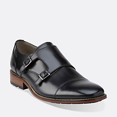 Penton Monk Black Leather mens-view-all