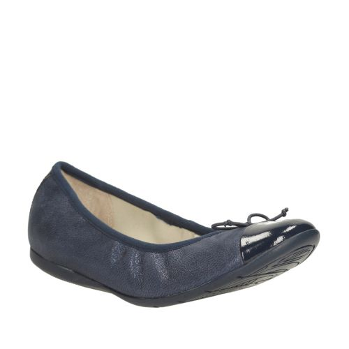 Dance Puff Youth Navy Leather girls-view-all