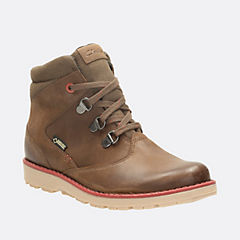 Day Hi GTX Youth Brown Leather boys-boots