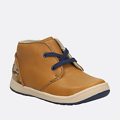 Maltby Run Toddler Tan Leather boys-toddler