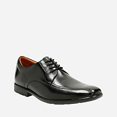 Gosworth Over Black Leather mens-dress-shoes