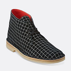 Desert Boot Blk/White