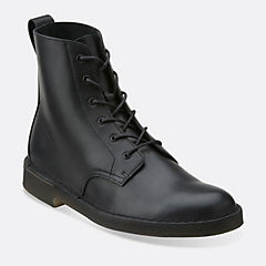 Desert Mali Black Leather mens-view-all