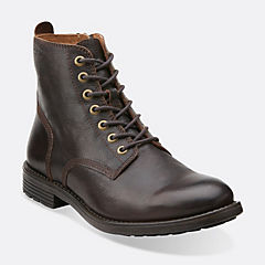 Faulkner Rise Walnut Leather mens-dress-boots